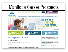 Manitoba Career Prospects website