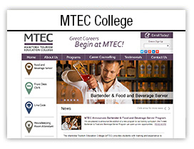 MTEC College website