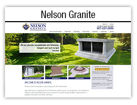 Nelson Granite website