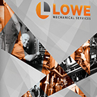 LOWE Mechanical Services Banners